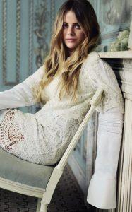 Bea Fresson fotografata da David Burton per Tatler magazine
