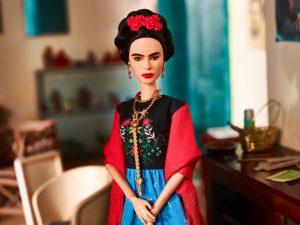 Frida Kahlo ha rotto le balle. Un'artista trasformata marchio-monociglio per borsette