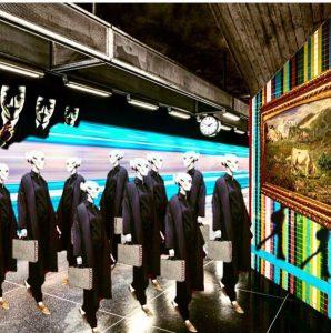 Un extraterreste in metropolitana! Anche gli alieni a Milano sono alienati