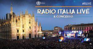 Radio Italia Live in Piazza Duomo a Milano il 16 giugno