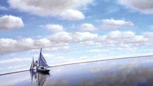 L'orizzonte è di cartone e la barca di Truman lo fora con la prua: si smaschera il reality show