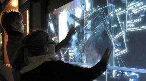 Il touch screen, visto per la prima volta in Minority Report