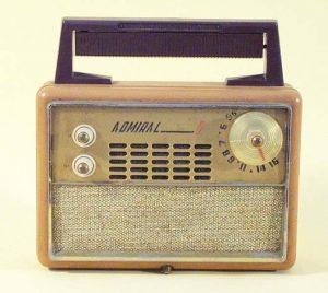 La radio Admiral