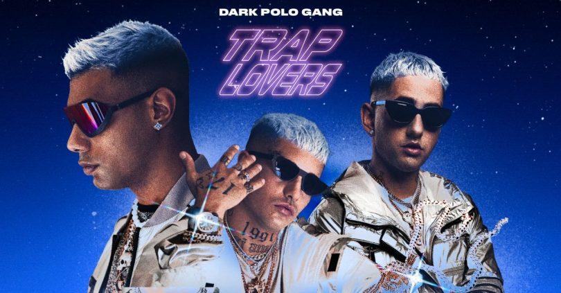 La cover di Trap Lovers, l'ultimo della Dark Polo Gang