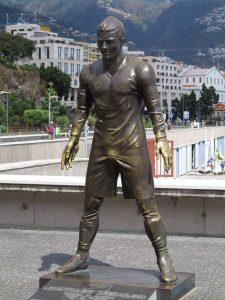 Statua di CR7 a Funchal