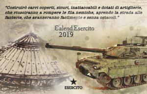 Calendario Esercito 2019