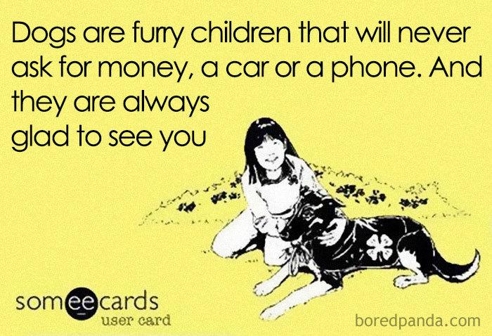 animali contro figli da bored panda