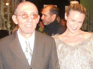 Antonio Guccione con Eva Herzigova