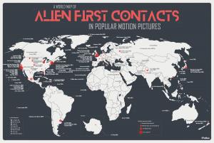 Sbarchi alieni nel mondo e in Italia, le mappe definitive