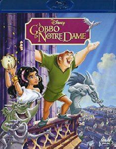 La locandina del film Il gobbo di Notre Dame uscito in Itale nel 1996