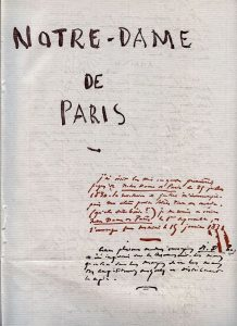 L'incendio di Notre Dame de Paris e i legami con Victor Hugo, per ignorantoni