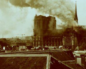 L'incendio di Notre Dame de Paris
